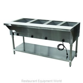 Advance Tabco HF-4E-120 Serving Counter, Hot Food, Electric