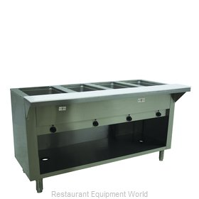 Advance Tabco HF-4E-240-BS Serving Counter, Hot Food, Electric