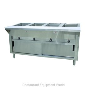 Advance Tabco HF-4E-240-DR Serving Counter, Hot Food, Electric