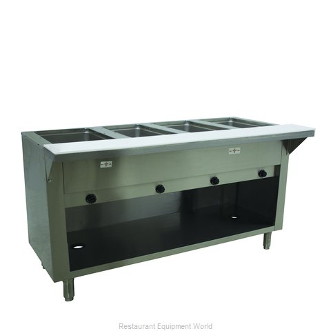 Advance Tabco HF-4G-LP-BS Serving Counter, Hot Food, Gas