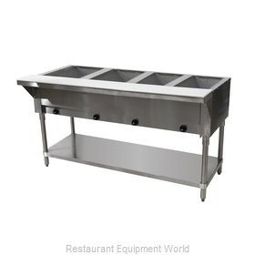 Advance Tabco HF-4G-LP-X Serving Counter, Hot Food, Gas