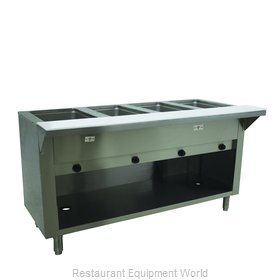 Advance Tabco HF-4G-NAT-BS Serving Counter, Hot Food, Gas