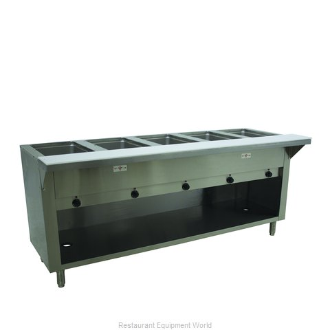 Advance Tabco HF-5E-240-BS Serving Counter, Hot Food, Electric