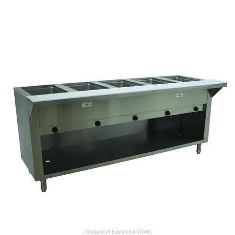 Advance Tabco HF-5G-LP-BS Serving Counter, Hot Food, Gas