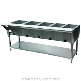 Advance Tabco HF-5G-LP Serving Counter, Hot Food, Gas