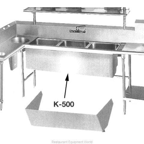 Advance Tabco K-500 Apron (Magnified)