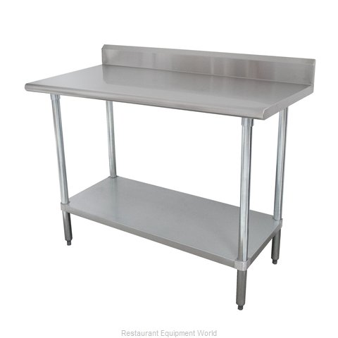 Advance Tabco KLAG-306-X Work Table 72 Long Stainless steel Top