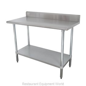 Advance Tabco KLAG-308-X Work Table 96 Long Stainless steel Top