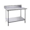 Mesa de Trabajo, 152cm (60 pulgadas) <br><span class=fgrey12>(Advance Tabco KMS-245 Work Table,  54
