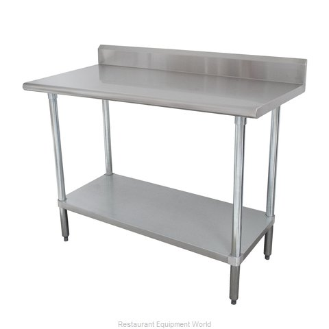 Advance Tabco KMSLAG-244-X Work Table 48 Long Stainless steel Top