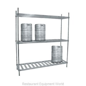Advance Tabco KR-60 Keg Storage Rack