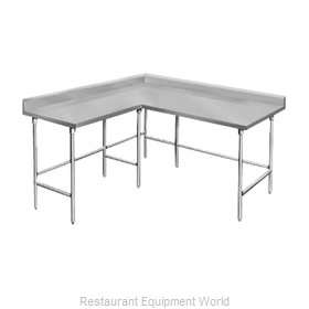 Advance Tabco KTMS-2411 Work Table L-Shaped