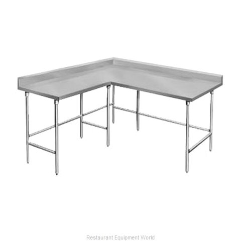 Advance Tabco KTMS-2412 Work Table L-Shaped