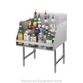 Advance Tabco LD-2118-X Underbar Bottle Display Unit