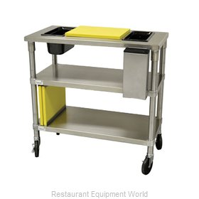 Advance Tabco MS-183-CS Work Table 36 Long Stainless steel Top