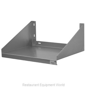 Advance Tabco MS-24-24-X Wall Mounted Microwave Shelves