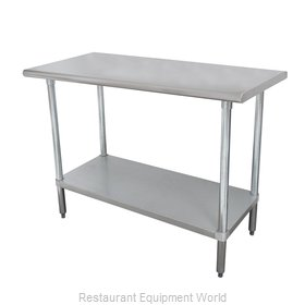 Advance Tabco MSLAG-246-X Work Table 72 Long Stainless steel Top