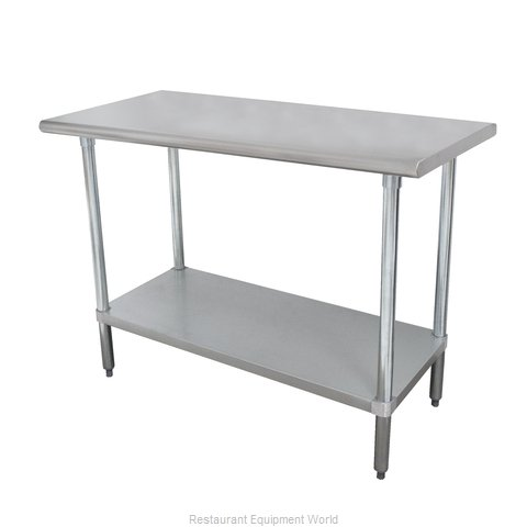 Advance Tabco MSLAG-304-X Work Table 48 Long Stainless steel Top