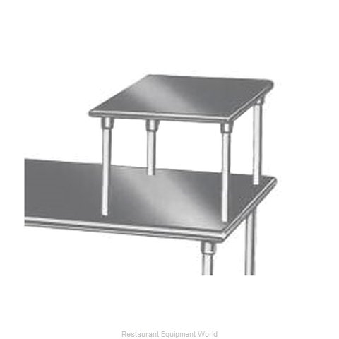 Advance Tabco MST-24-24 Overshelf Table Mounted (Magnified)