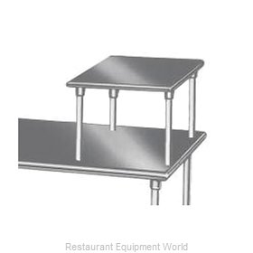 Advance Tabco MST-24-24 Overshelf, Table-Mounted