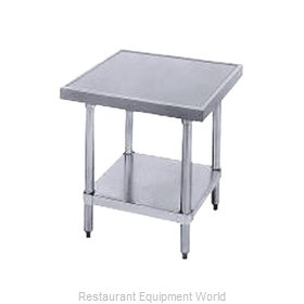 Advance Tabco MT-SS-300 Stainless Steel Mixer Table