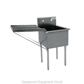 Advance Tabco N-5-818 Drainboard, Detachable