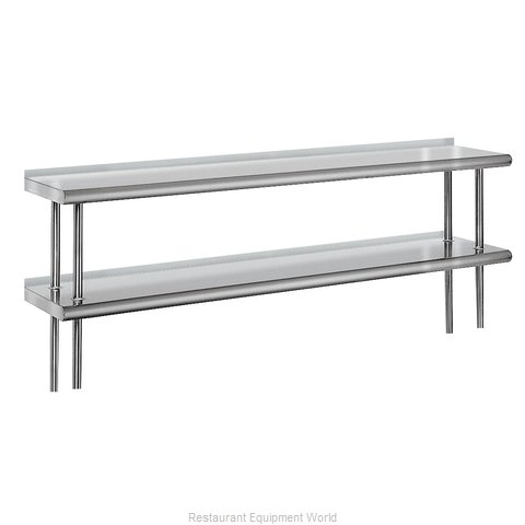 Advance Tabco ODS-12-120R Overshelf, Table-Mounted