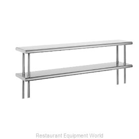 Advance Tabco ODS-15-60 Overshelf, Table-Mounted