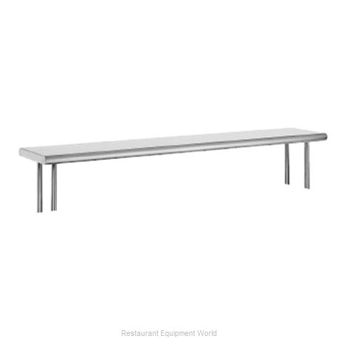 Advance Tabco OTS-10-108R Overshelf Table Mounted (Magnified)