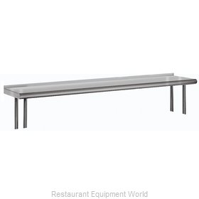 Advance Tabco OTS-12-120R Overshelf, Table-Mounted