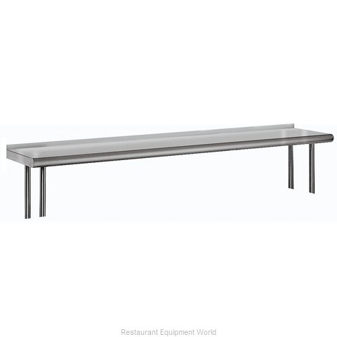 Advance Tabco OTS-12-72R Overshelf, Table-Mounted (Magnified)