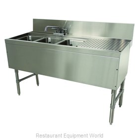 Advance Tabco PRB-24-53L Underbar Sink Units