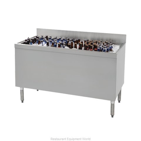Advance Tabco PRBB-60 Underbar Beer Bin, Ice Cooled