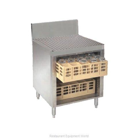 Advance Tabco PRCR-24-24 Underbar Glass Rack Storage Unit