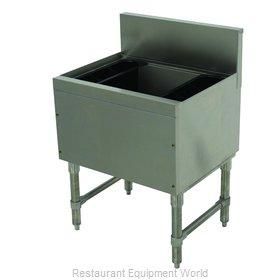 Advance Tabco PRI-19-24-XD Underbar Ice Bin/Cocktail Unit