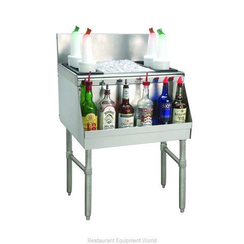 Advance Tabco PRI-24-30-10 Underbar Ice Bin/Cocktail Unit
