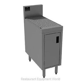 Advance Tabco PRSCD-19-18-M Underbar Workboard, Storage Cabinet