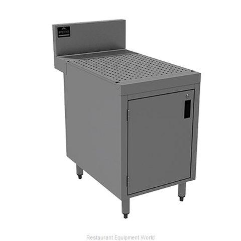 Advance Tabco PRSCD-24-18 Underbar Workboard, Storage Cabinet