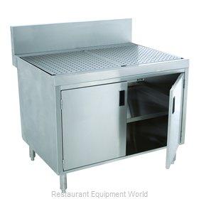 Advance Tabco PRSCD-24-24-M Underbar Workboard, Storage Cabinet