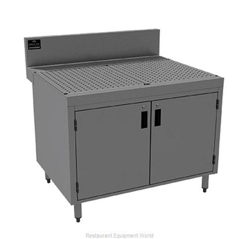 Advance Tabco PRSCD-24-36 Underbar Workboard, Storage Cabinet