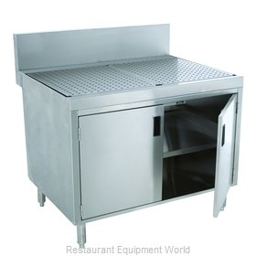 Advance Tabco PRSCD-24-48-M Underbar Workboard, Storage Cabinet