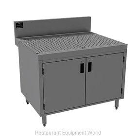 Advance Tabco PRSCD-24-48 Underbar Workboard, Storage Cabinet