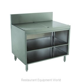 Advance Tabco PRSCO-19-36-M Underbar Workboard, Storage Cabinet
