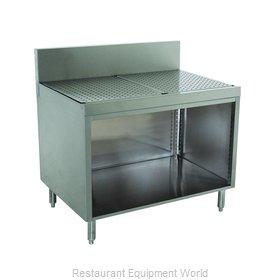 Advance Tabco PRSCO-19-36 Underbar Workboard, Storage Cabinet
