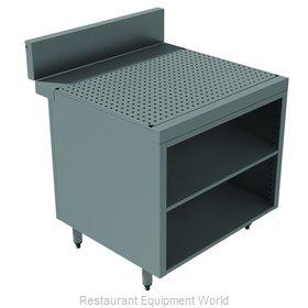 Advance Tabco PRSCO-24-12-M Underbar Workboard, Storage Cabinet
