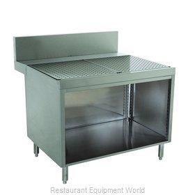 Advance Tabco PRSCO-24-12 Underbar Workboard, Storage Cabinet