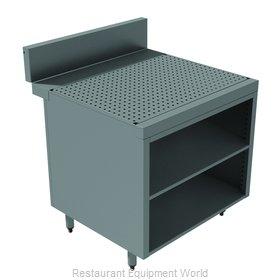 Advance Tabco PRSCO-24-48-M Underbar Workboard, Storage Cabinet