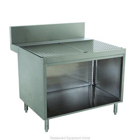 Advance Tabco PRSCO-24-48 Underbar Workboard, Storage Cabinet