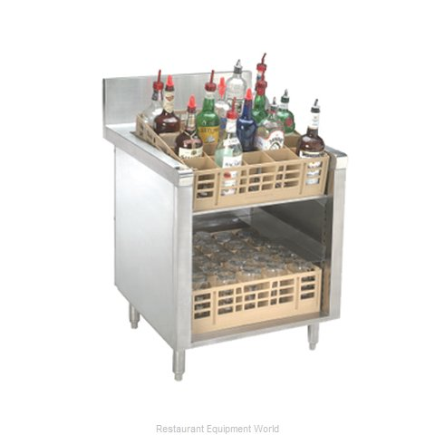Advance Tabco PRSR-24-24 Underbar Glass Rack Storage Unit