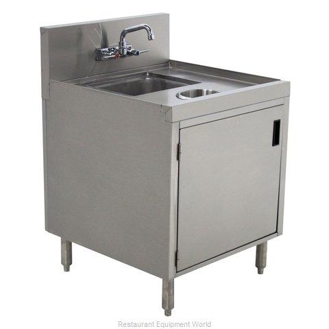 Advance Tabco PRWC-24-18-DR Underbar Waste Cabinet, Wet & Dry